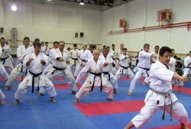 آغاز اولین دوره مسابقات کاراته سبک شوتوکان قهرمانی کشور در رشت