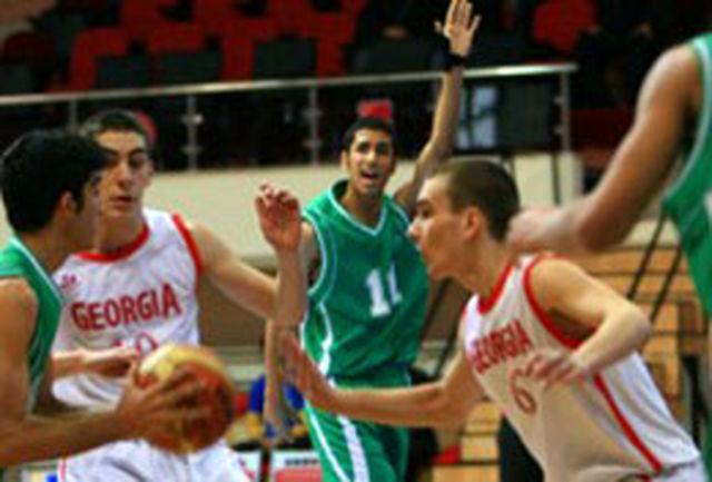 قهرمانی تیم بسکتبال نوجوانان ایران در مسابقات غرب آسیا