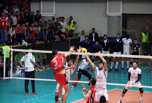 یکه تازی نماینده ارومیه در لیگ دسته اول والیبال