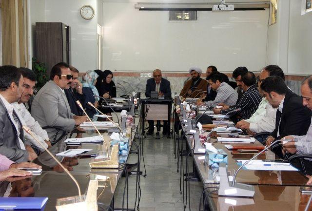 جلسه ستاد صیانت از حریم امنیت عمومی و حقوق شهروندی شهرستان ملارد