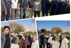 حدادی در مناطق زلزله زده حضور پیدا کرد