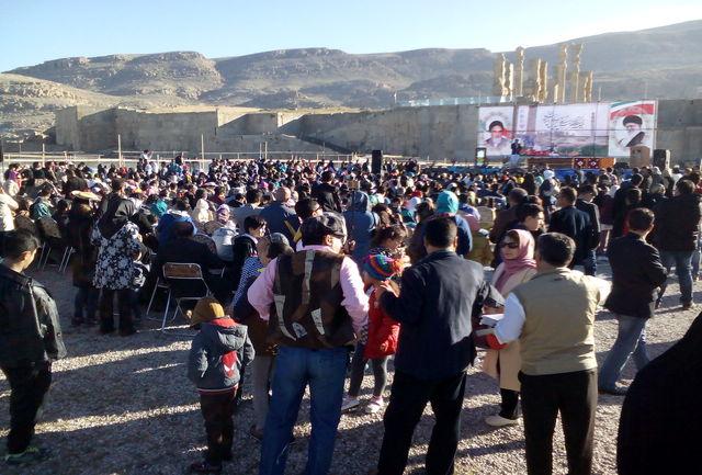 برگزاری جشن نوروز در تخت جمشید /استقبال با شکوه مردم