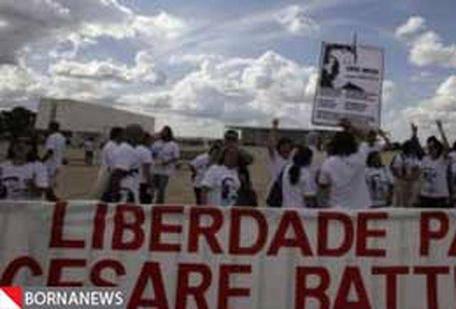 برزیل با استرداد چپ گرای ایتالیایی مخالفت کرد