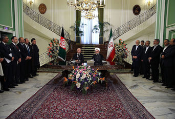 امضای سند همکاری مشترک ایران و افغانستان