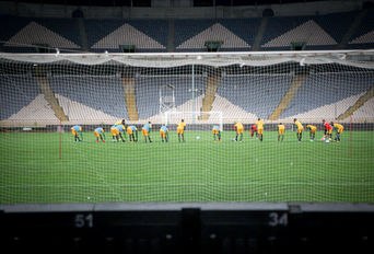 تمرین تیم ملی فوتبال توگو