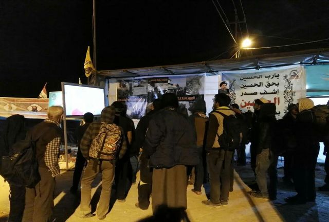 اکران فیلمهای جشنواره عمار در موکبهای اربعین