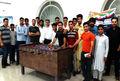 مسابقات فوتبال دستی ویژه جوانان در زاهدان برگزار شد