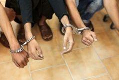 دستگیری سارقان کابل های مخابراتی