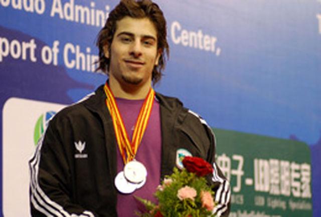 گزارش تصویری برنا از نایب قهرمانی کیانوش رستمی