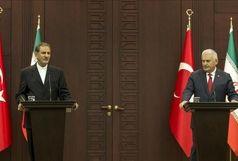 حضور جهانگیری در ضیافت ناهار رسمی نخست وزیر ترکیه