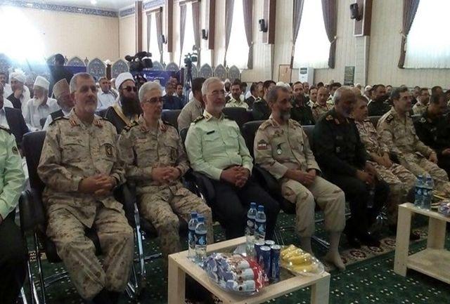 همایش طوایف و فرماندهان نظامی و انتظامی جنوب شرق کشور در زاهدان برگزار شد