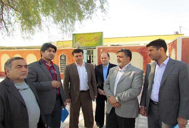 بازدید معاون پشتیبانی ومدیر کل روابط عمومی بنیاد مسکن کشور از استان هرمزگان