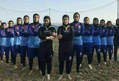تیم چای ناطق لاهیجان نائب قهرمان فوتبال ساحلی بانوان کشور