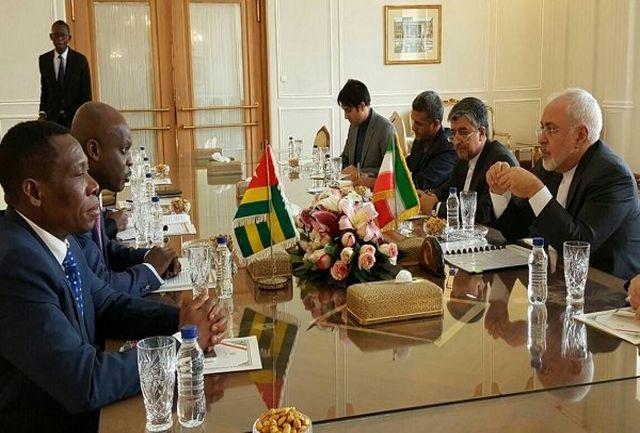 وزیر خارجه «توگو» با ظریف دیدار کرد