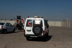انتقال پیکر شهدای حادثه تروریستی ذی قار به خرمشهر