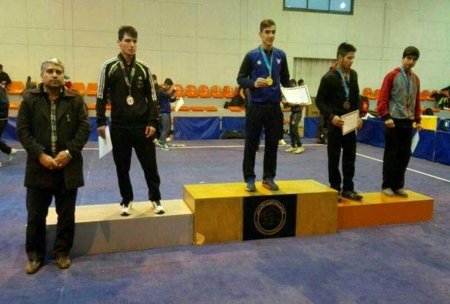 کسب مدال طلای مسابقات ووشوی قهرمانی دانشجویان کشور توسط ورزشکار قرچکی