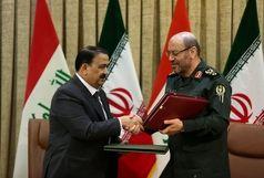 یادداشت تفاهم همکاریهای دفاعی-نظامی ایران و عراق امضا شد