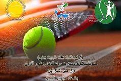 تنیسورهای کشور در قزوین دوئل می کنند
