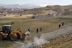 رفع تصرف بیش از 42 هزار مترمربع از اراضی