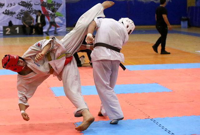 با برگزاری هفته پایانی؛ تکلیف قهرمان لیگ سبکهای آزاد کاراته فردا مشخص میشود