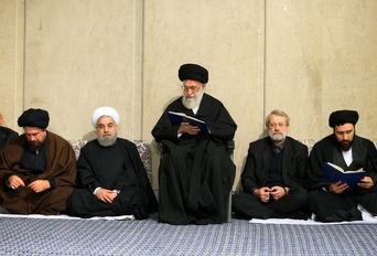 مراسم بزرگداشت آیت الله هاشمی رفسنجانی در حسینیه امام خمینی(ره)