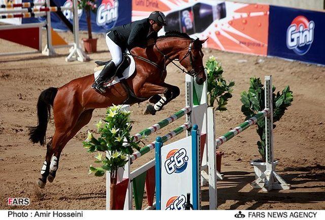 اولین مسابقه پرش با اسب هیأت سوارکاری استان اصفهان در سال 96