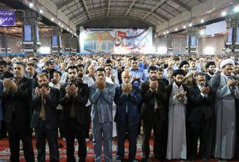 اقامه نماز عید فطر در مصلای اهواز