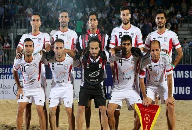 سومین اردوی مشترک تیم های ملی فوتبال ساحلی برگزار می شود