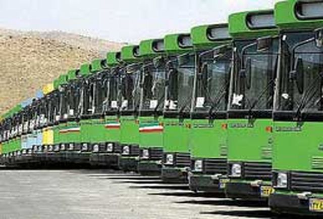 تحویل 200 دستگاه اتوبوس به شهرداری های سراسر کشور