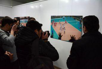 آغاز نمایشگاه عکس های ورزشی