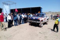 رقابت آفرودبازان در قزوین به ایستگاه پایانی رسید