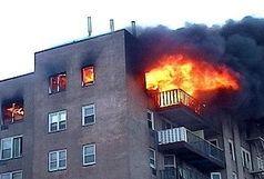 آتش سوزی در ستارخان چهار آتشنشان را روانه بیمارستان کرد
