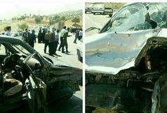 یک کشته و ۶ زخمی در تصادف زنجیره ای محور ملکشاهی