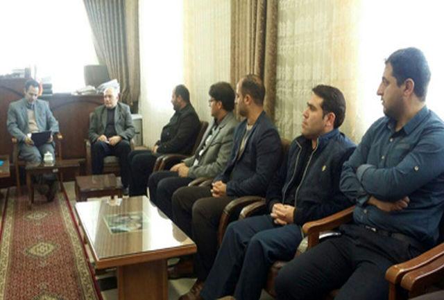 رییس حفاظت و اطلاعات دادگستری آذربایجان شرقی از حوزه قضایی مهربان بازدید کرد