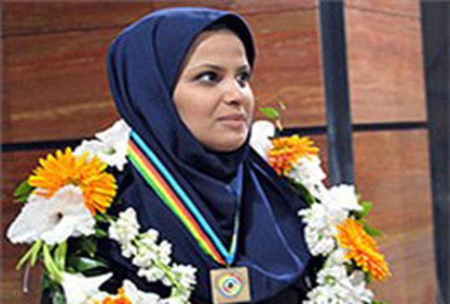 الهه احمدی، بهترین تیرانداز ایران در رنکینگ 2012 جهان