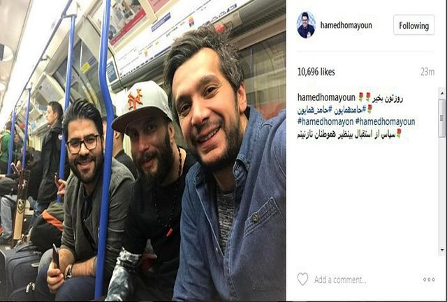 لبخند متفاوت خواننده پرسپولیسی در مترو تهران/ببینید