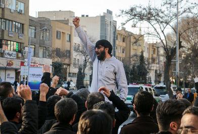 اجتماع مردم مشهد در حمایت از شهدای بحرین و شیخ زکزاکی