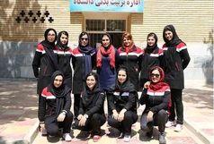 مسابقات والیبال دانشجویان دختر علوم پزشکی در قزوین جریان دارد